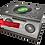 Custom Personalised Cremation Ashes Casket HOBBY SPORT FUN DJ MUSIC SPEAKER