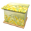 Custom Personalised Cremation Ashes Casket in YELLOW DAFFODILSdesign