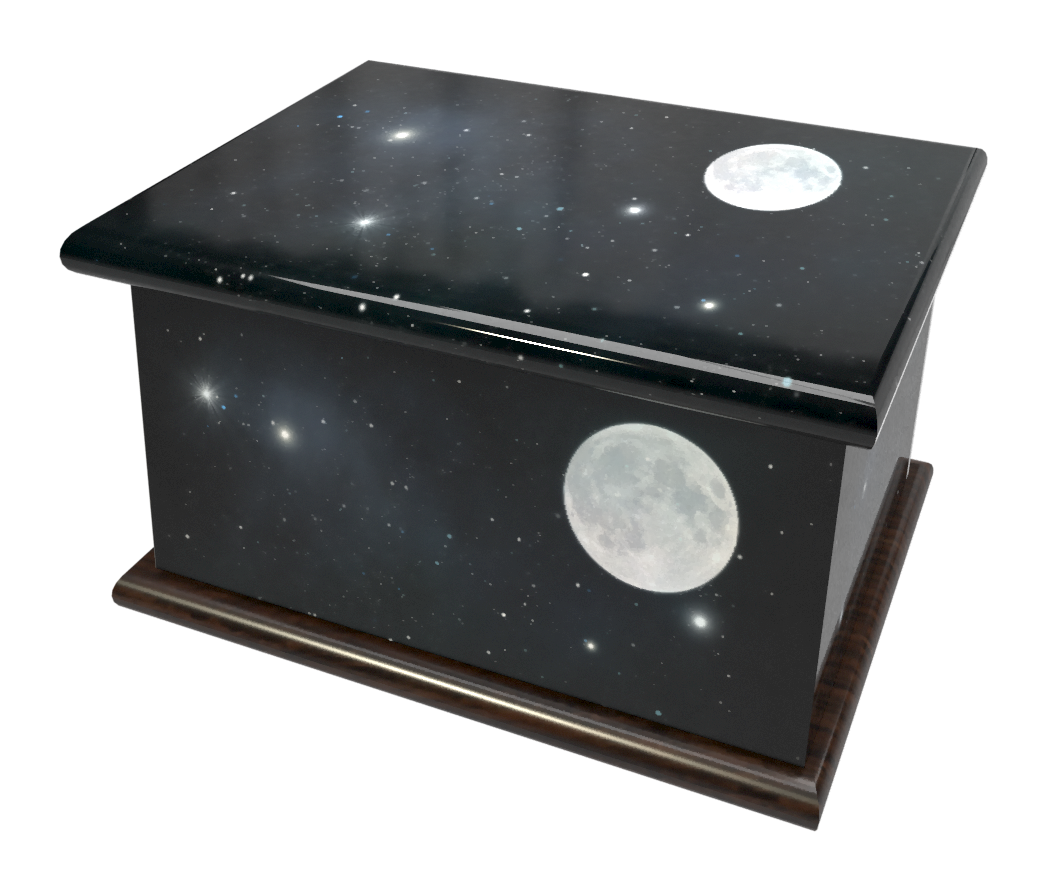 Ashes Casket AMONGST THE STARS