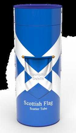Scatter Tube (SCOTTISH FLAG)