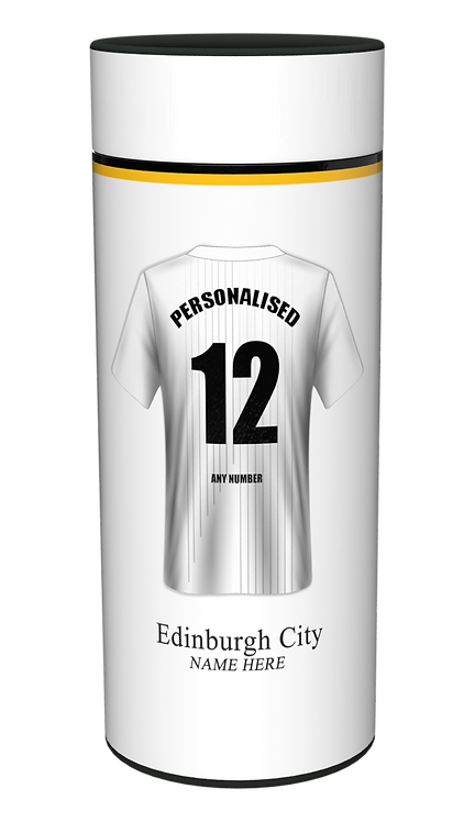 Custom Personalised Cremation Ashes Casket Urn FOOTBALL TEAM EDNIBURGH CITY