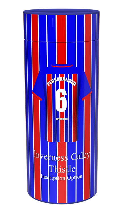 Custom Personalised Cremation Ashes Casket Urn FOOTBALL TEAM INVERNESS CALEY THISTLE