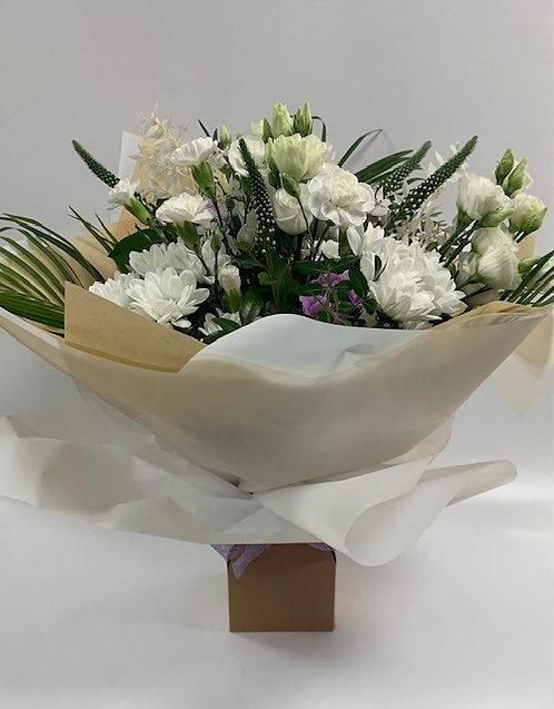 Whites and Pastels Sympathy Bouquet