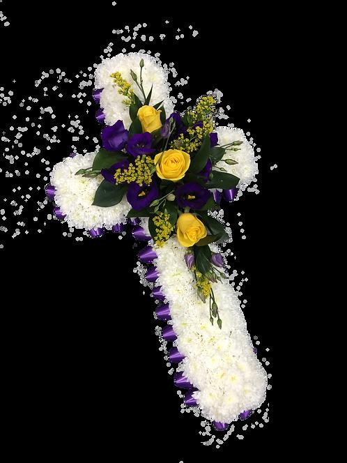 Funeral Tributes Floral Sympathy Flowers Floral Cross