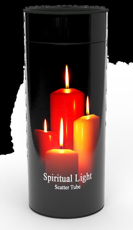 Custom Personalised Cremation Ashes Casket Urn SPIRITUAL LIGHT