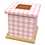 Thumbnail: Pet Ashes Casket GINGHAM PINK