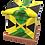 Custom Personalised Cremation Ashes Casket Urn JAMAICA FLAG