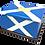 Personalised Custom SCOTTISH FLAG Cremation Ashes Casket
