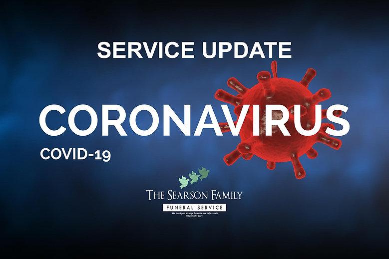 CORVID 19 UPDATE