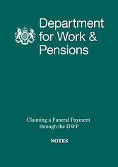 DWP FUNERAL PAYMENT NOTES