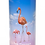 Custom Personalised Funeral Cremation Ashes Casket Urn Hobby Sport Interest PINK FLAMINGOES
