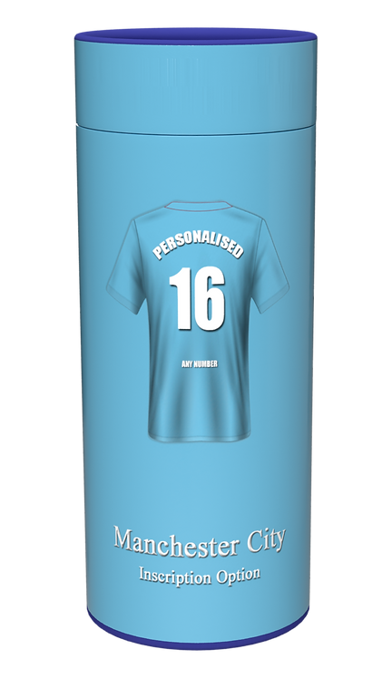 Custom Personalised Cremation Ashes Casket Urn FOOTBALL TEAM MANCHESTER CITY
