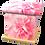 Personalised Custom FLORAL PINK CARNATIONS Cremation Ashes Casket and Keep-Sake Urns