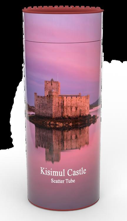 Custom Personalised Cremation Ashes Casket Urn Scenic Landscape KISIMAL CASTLE