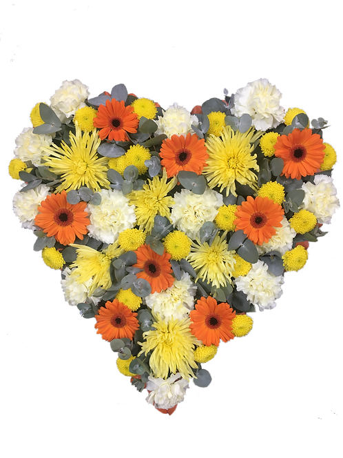 Funeral Tributes Floral Sympathy Flowers Floral Heart