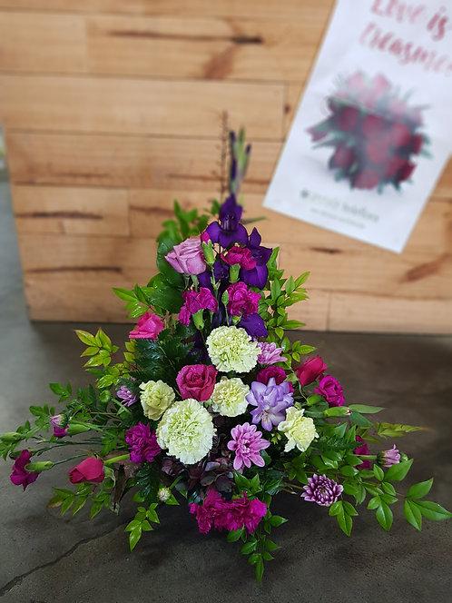 Posy Bowl Pink & Purple