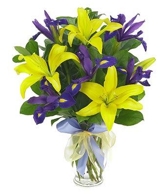 Stunning Lily and Iris
