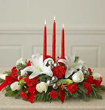 Candle Table Arrangement