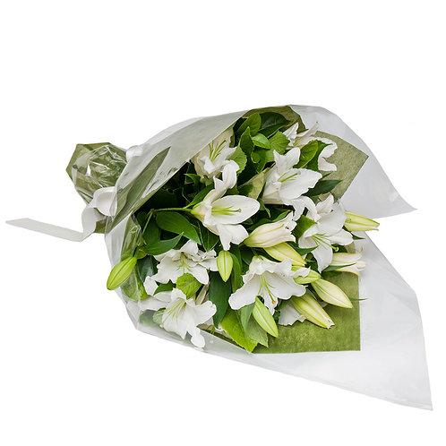 Classic White Oriental Lilies