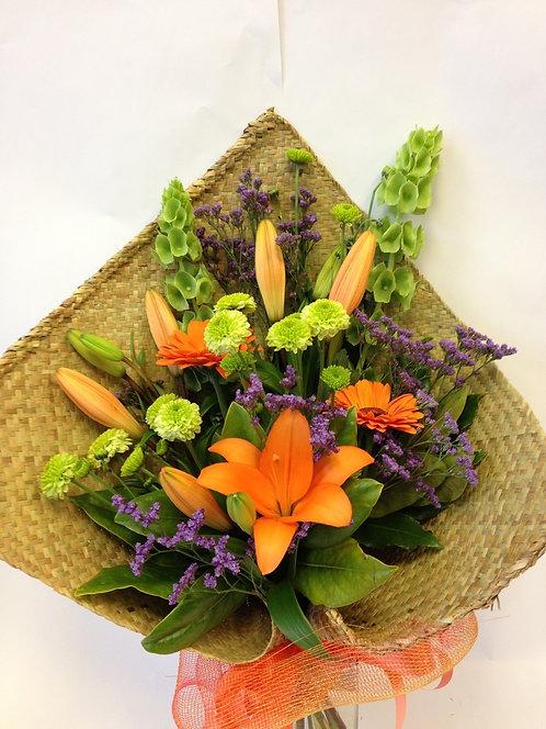 Florist Choice Bright Flax Wrap