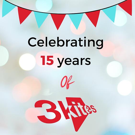 3Kites Virtual 15th Birthday Celebrations featuring Professor Joost de Haas