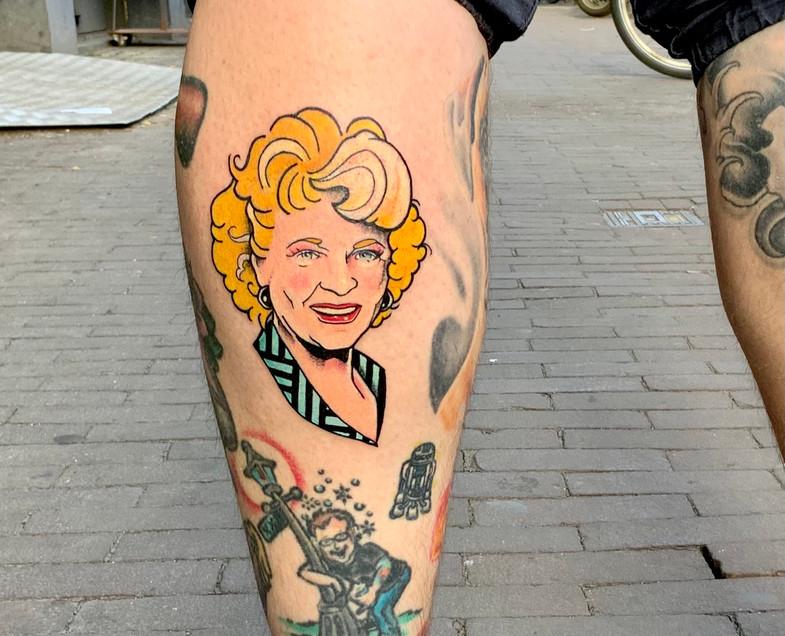 Golden Girls Rose Betty White neo tradit