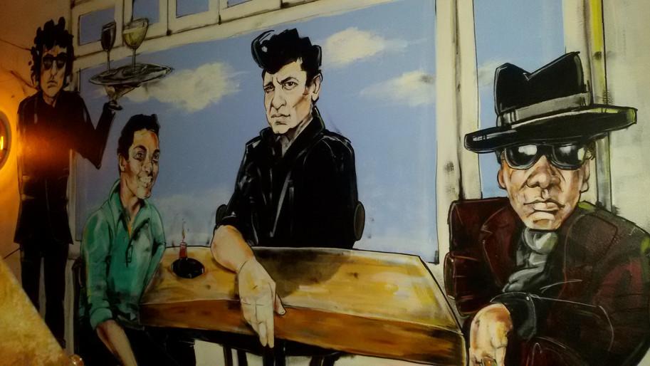 Mural Cafe Cook Amsterdam_ 4 meters x 2.