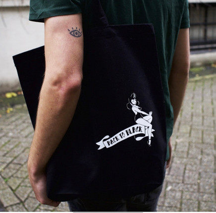 Tote bag Back To Black coffee roasters A