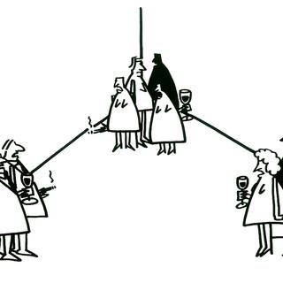 Boekillustratie Gien Amsterdam _ karikat
