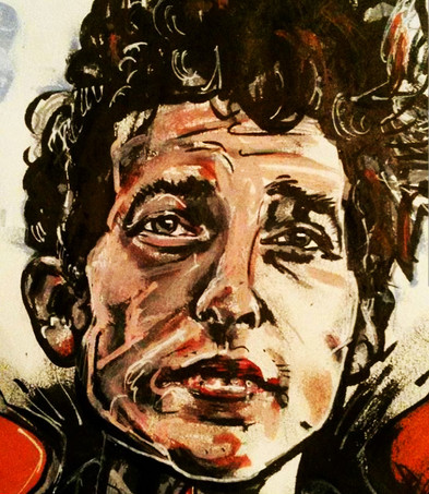 Bob Dylan by Gien Amsterdam _ Illustrati
