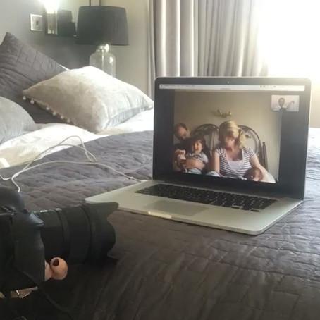 Newborn Photography Virtual Shoot - where all my thinking began :)