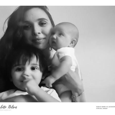 Baby Maysa Born in Lockdown 2020