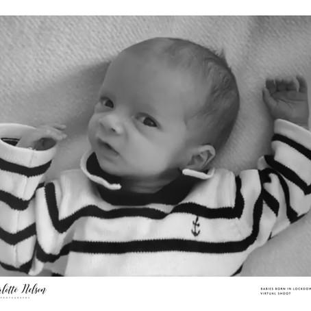 Baby Matthew Born in Lockdown 2020
