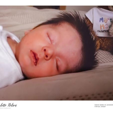 Meet Baby Finn Born in Lockdown 2020