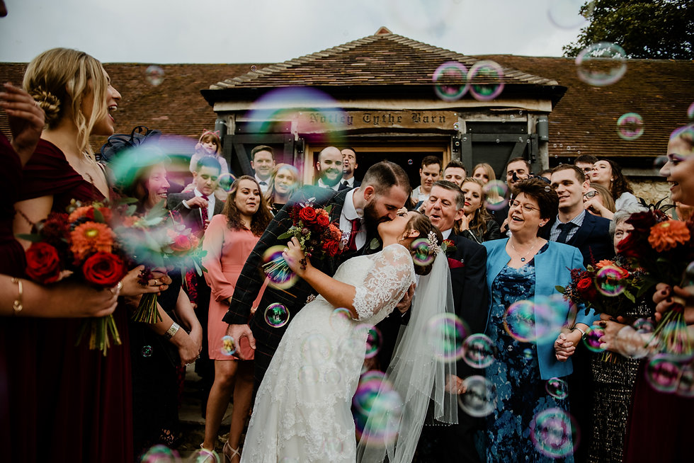 Notley Thythe Barn Wedding Photographer,