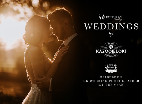 Hirst Priory Wedding Photography by Kazooieloki Photography