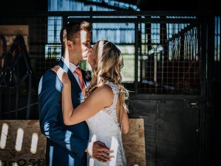 Tamlin and Jen: Deepdale Farm Wedding by Kazooieloki Photography