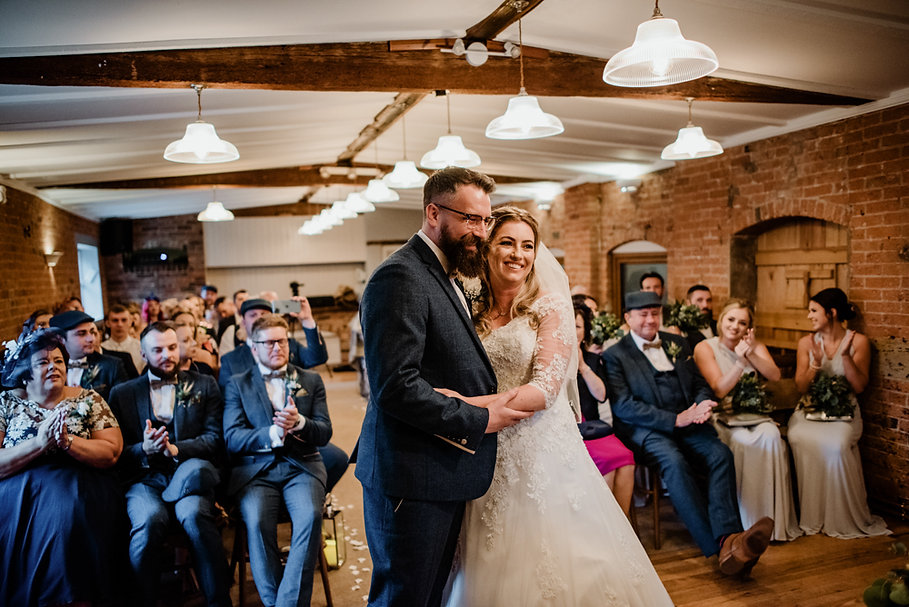 Donington Park Farmhouse Wedding Photogr