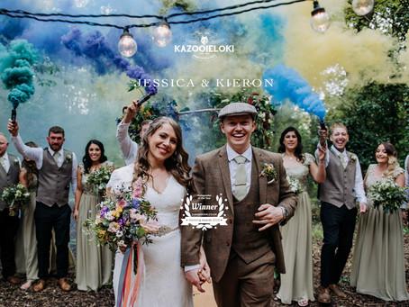 Jessica & Kieron: Whimsical Festival D.I.Y Hirst Priory Wedding by Kazooieloki Lincolnshire Wedd