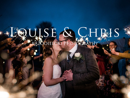 Louise & Chris: Very Muddy and Wet Little Wold Vineyard Wedding by Kazooieloki Hull Wedding Phot