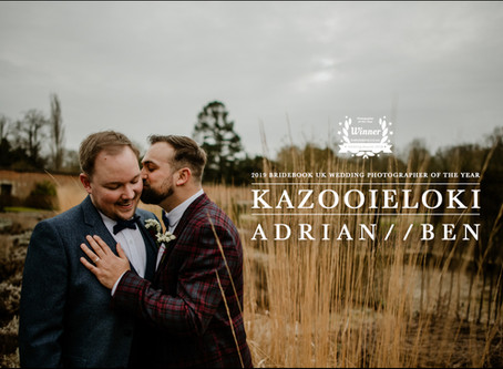 Adrian & Ben: Elsham Hall Wedding by Kazooieloki Lincolnshire Wedding Photographer