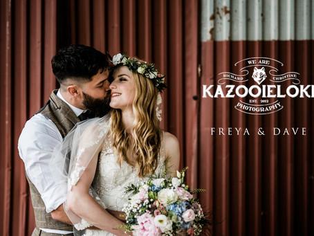 Freya & Dave's Whimsical Outdoor Wedding by Kazooieloki Photography