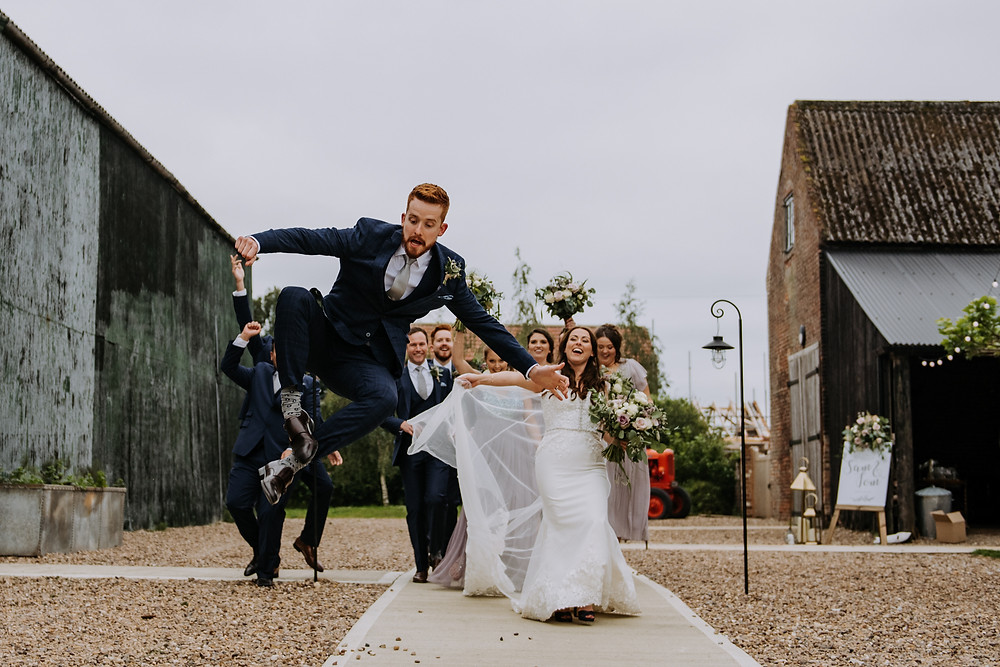 The Barns East Yorkshire Wedding Photographer