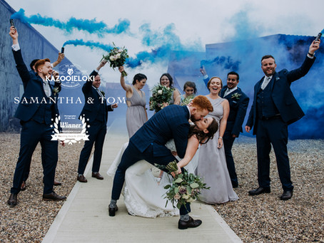 Samantha & Tom: Rocking The Barn's East Yorkshire Wedding, by Kazooieoki Lincolnshire Weddin