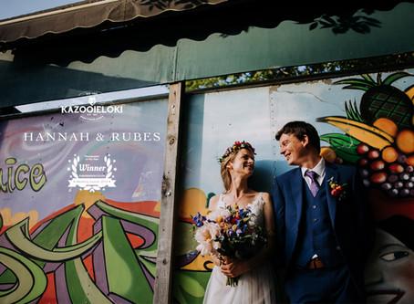 Hannah & Rubes: Cabourne Parva Whimsical Woodland Festival Wedding by Kazooieloki Lincolnshire W