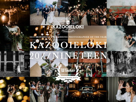 2019 We Love You! By Kazooieloki Lincolnshire Wedding Photographer. A year in photos.