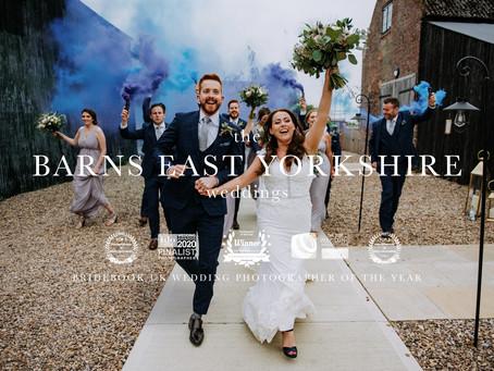 The Barns East Yorkshire Wedding Photography by Kazooieloki Photography