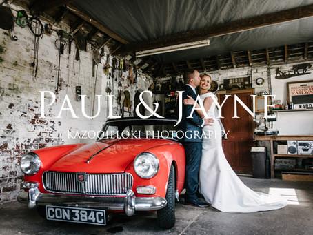 Paul & Jayne: Folly Field Wedding by Kazooieloki Photography