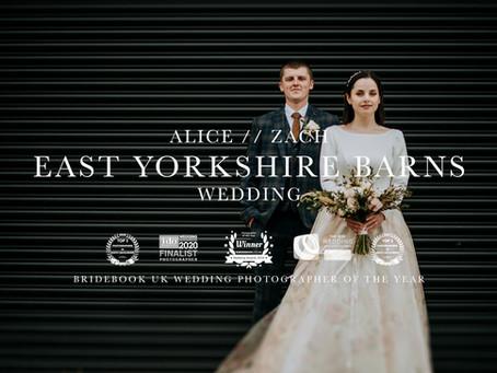 Alice & Zach: East Yorkshire Barns Wedding by Kazooieloki Photography