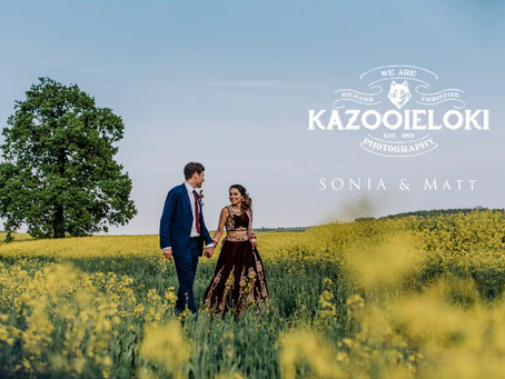 Sonia & Matt: Anglo Indian Fusion Wedding by Kazooieloki Photography